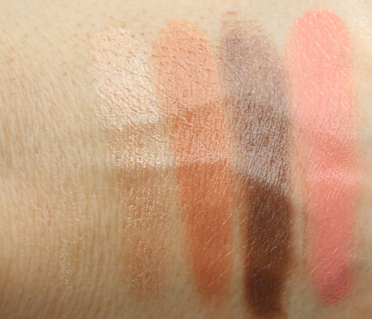MAC Ellie Goulding Halcyon Days Full Face Kit Swatches