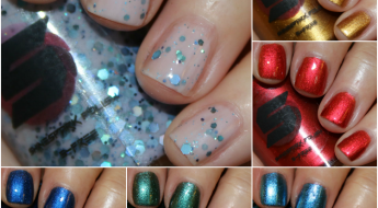 Shinespark Polish Winter Holiday 2015 Collection