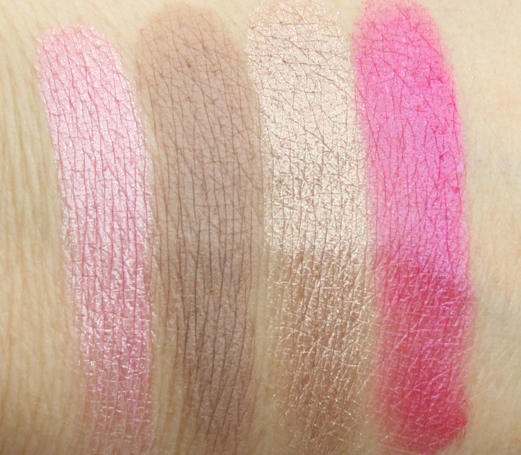 Too Faced Chocolate Bon Bons Eye Shadow Collection Swatches-2