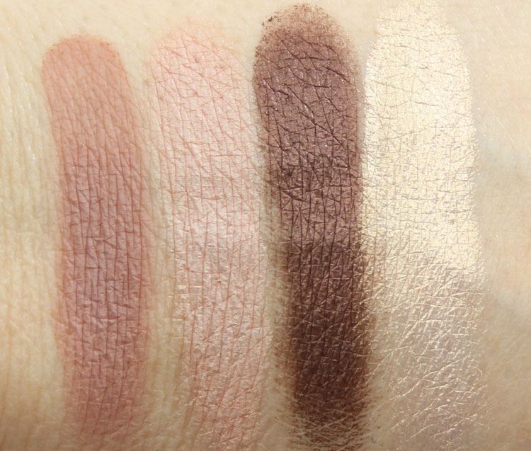 Too Faced Chocolate Bon Bons Eye Shadow Collection Swatches