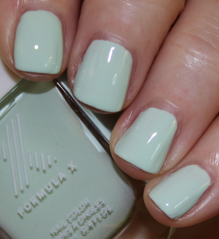 Formula X #ColorCurators Song of Style Mintfluencer