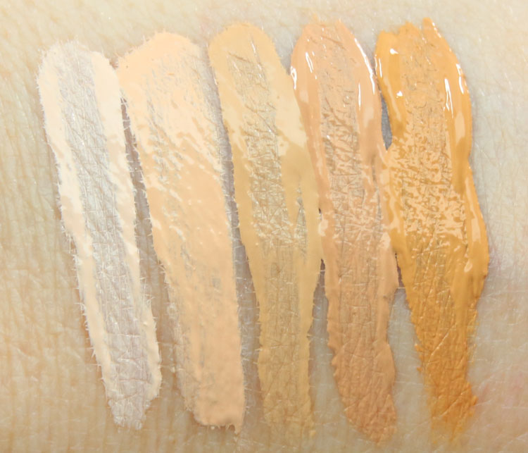 Make Up For Ever Ultra HD Invisible Cover Concealer Swatches-2