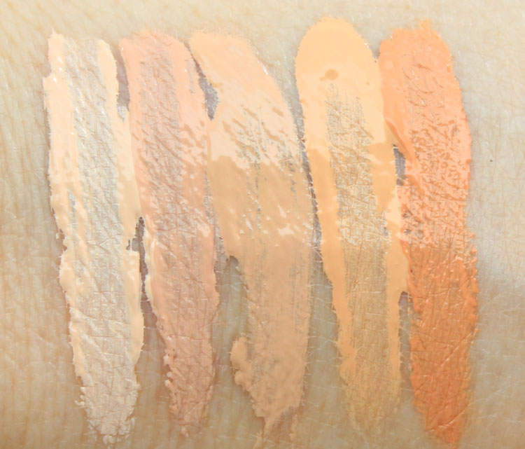 Make Up For Ever Ultra HD Invisible Cover Concealer Swatches