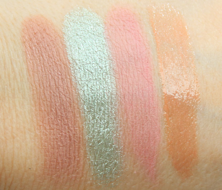 NARS Spring 2016 Color Collection Swatches