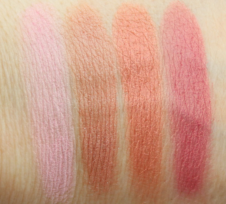 NARSissist Cheek Studio Palette Swatches-2