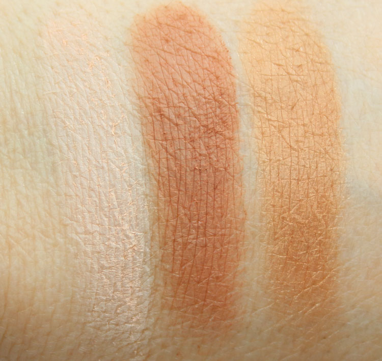 NARSissist Cheek Studio Palette Swatches
