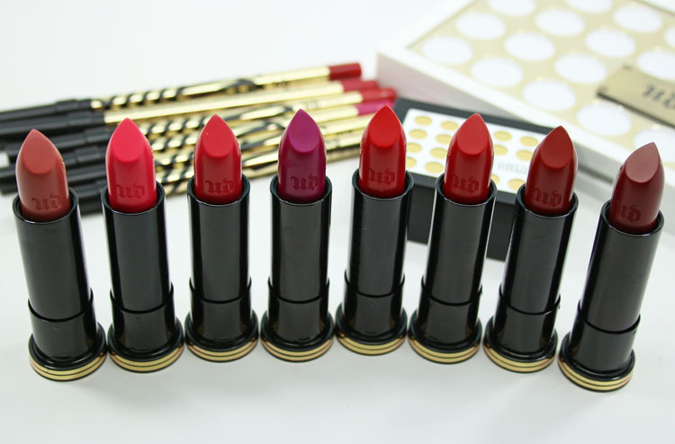 Urban Decay Gwen Stefani Lipstick Collection