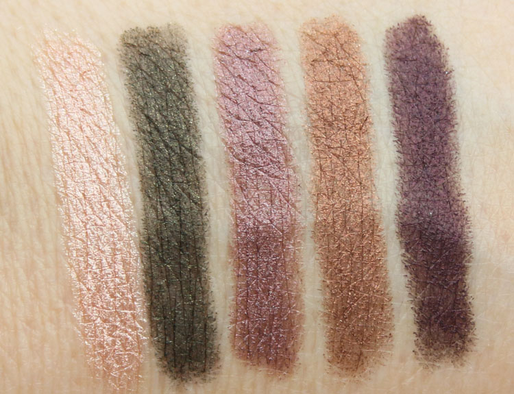 theBalm Batter Up Long Wearing Eyeshadow Stick Swatches