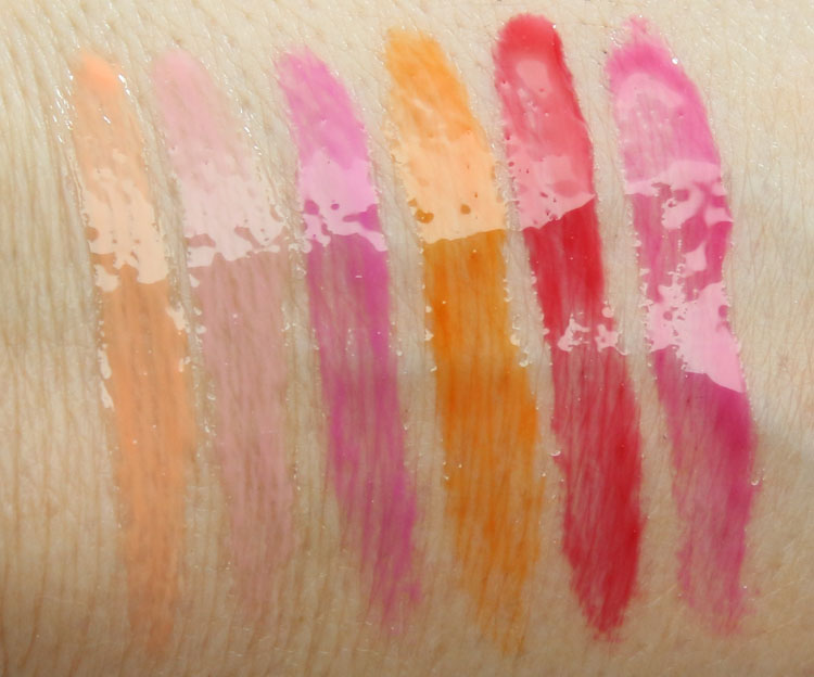 BUXOM Full On Lip Cream Ciao, Bella Collection Swatches