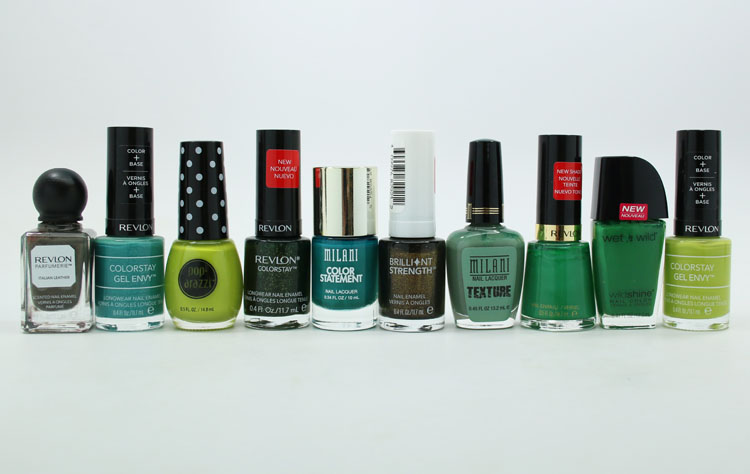 Best Green Drugstore Nail Polishes