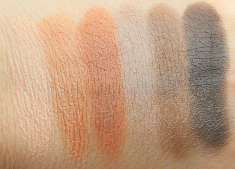 Buxom Suede Seduction Eyeshadow Palette Swatches
