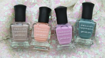 Deborah Lippmann Afternoon Delight Spring 2016 Collection