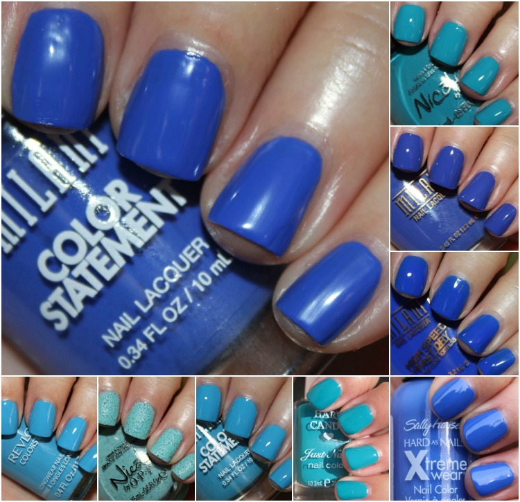 Favorite Blue Drugstore Nail Polish