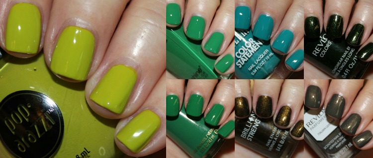 Green Drugstore Nail Polish