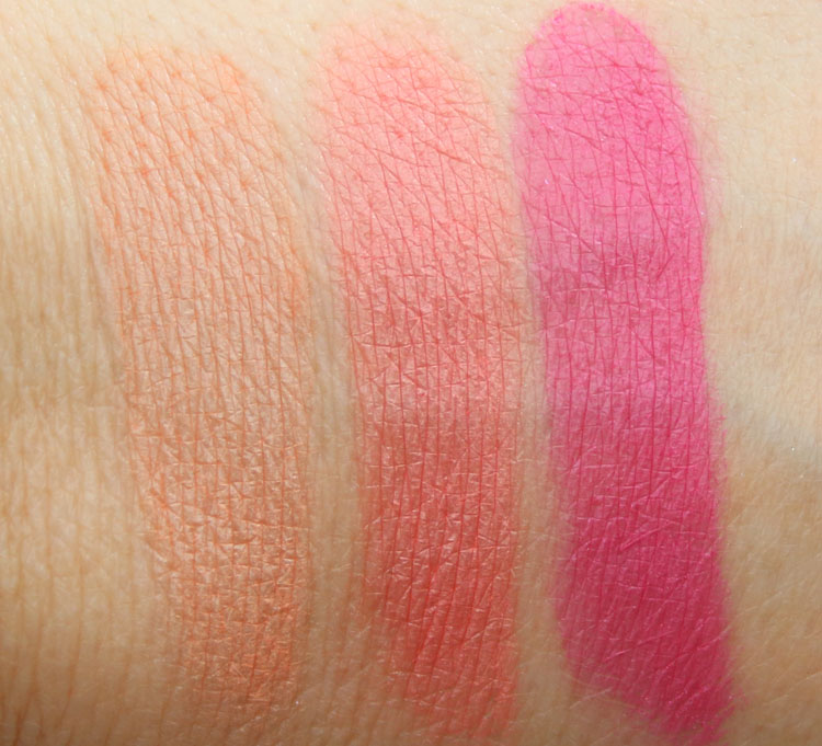 MAC Flamingo Park Blush Swatches