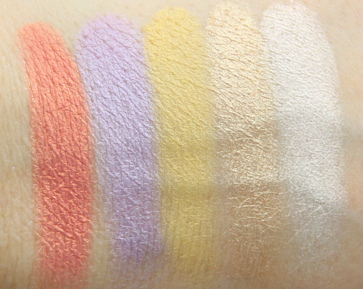 Make Up For Ever Artist Palette, Vol 3 Swatches-2