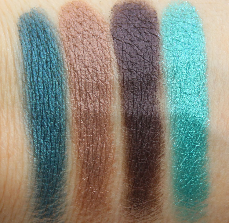 Make Up For Ever Artist Palette, Vol 3 Swatches