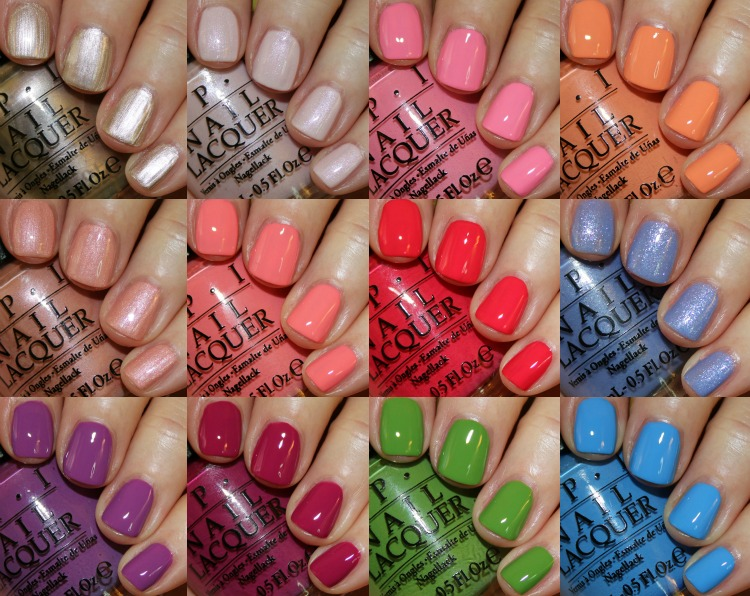 New Orleans by OPI Collection