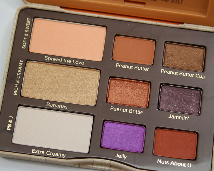 Too Faced Peanut Butter And Jelly Eye Shadow Collection-3