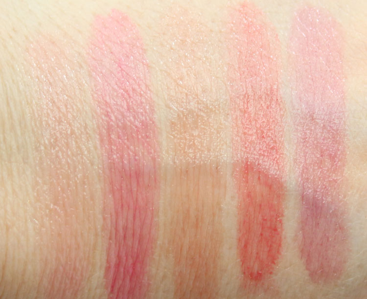 CoverGirl Oh Sugar! Vitamin Infused Balm Swatches