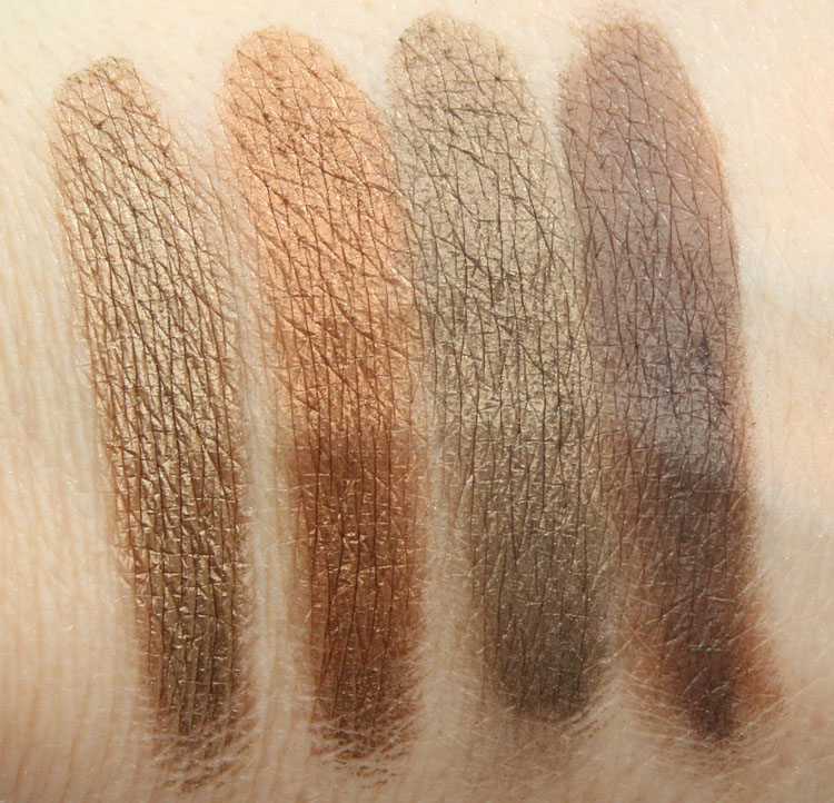 CoverGirl TruNaked Eye Shadow Goldens Swatches 2