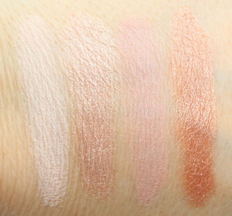 CoverGirl TruNaked Eye Shadow Roses Swatches 1