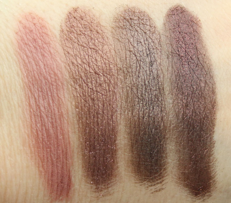 CoverGirl TruNaked Eye Shadow Roses Swatches 2