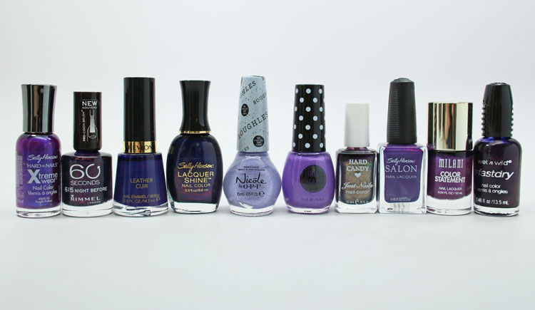 Favorite Drugstore Nail Polish Purple