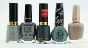 Favorite Grey Drugstore Nail Polish
