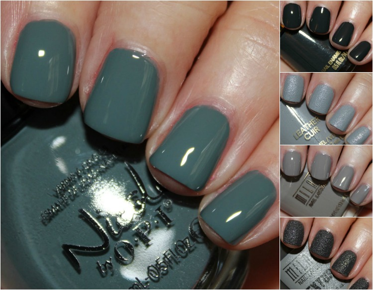 Favorite Grey Drugstore Nail Polish Shades