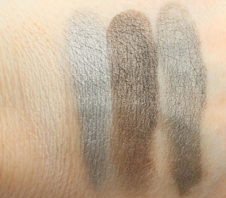 Future MAC Mineralize Eye Shadow x4 Full Orbit Swatches