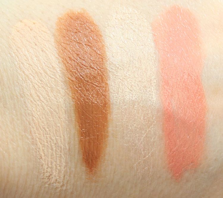 Make Up For Ever Pro Sculpting Palette 30 Swatches