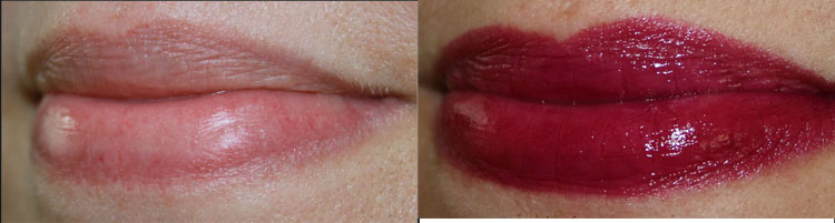 Too Faced La Creme Color Drenched Lipstick Berry Naughty