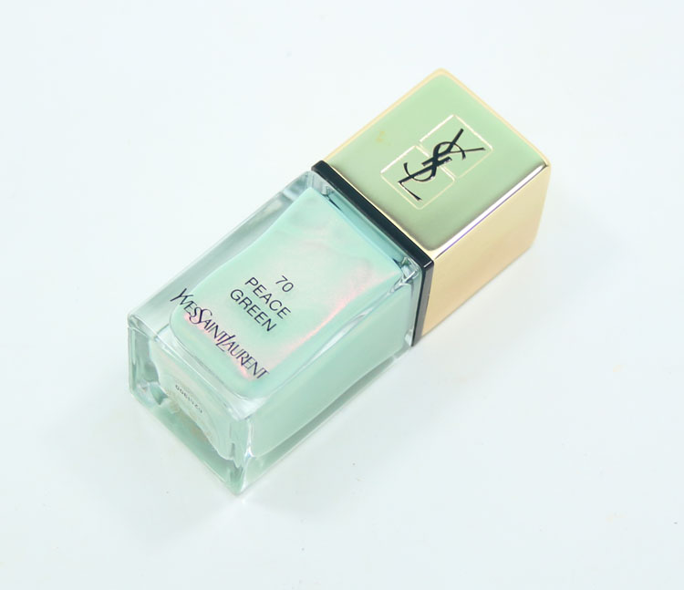 Yves Saint Laurent La Laque Couture Peace Green Bottle