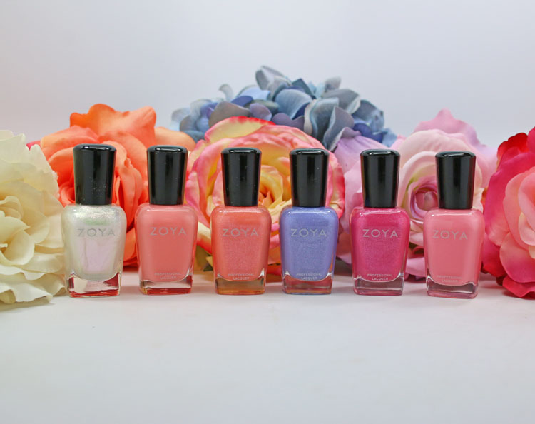 Zoya Spring 2016 Petals Collection