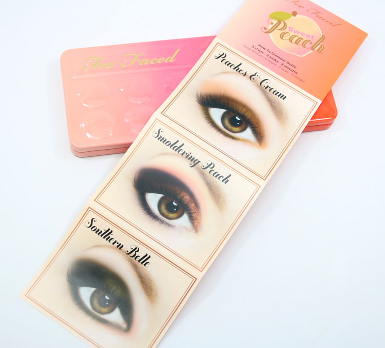 Too Faced Sweet Peach Eye Shadow Collection-4