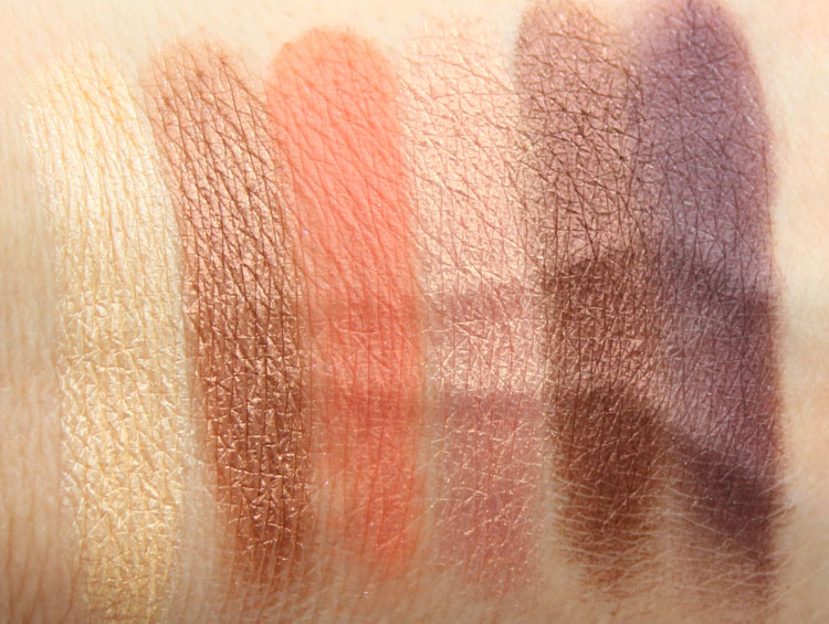 Too Faced Sweet Peach Eye Shadow Collection Swatches-2