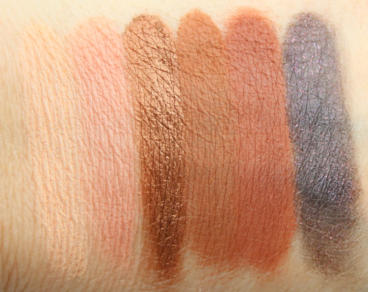 Too Faced Sweet Peach Eye Shadow Collection Swatches-3