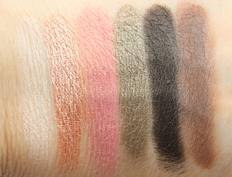 Too Faced Sweet Peach Eye Shadow Collection Swatches