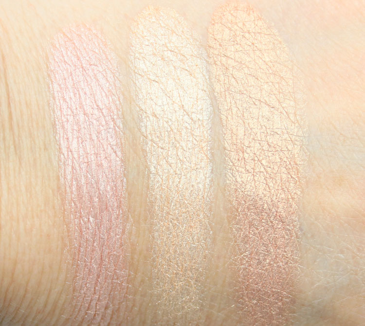 LORAC Illuminating Highlighter Swatches
