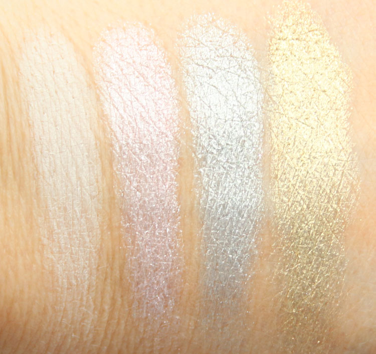 Too Faced The Power Of Makeup by NikkieTutorials Swatches