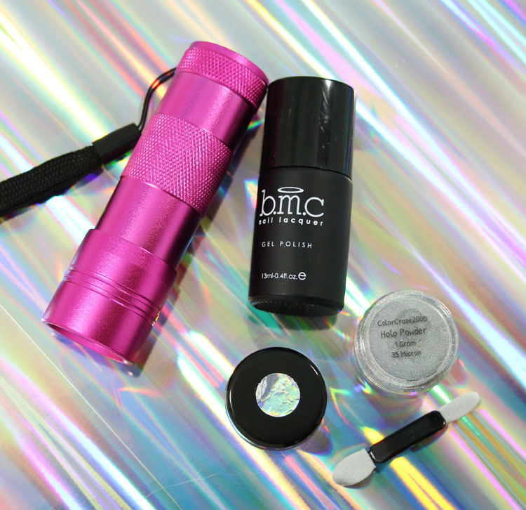 How Does Powder Nail Polish Work: Holographic Nail Powder Review