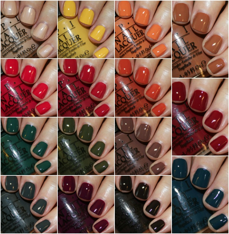 OPI Washington D.C. Fall 2016