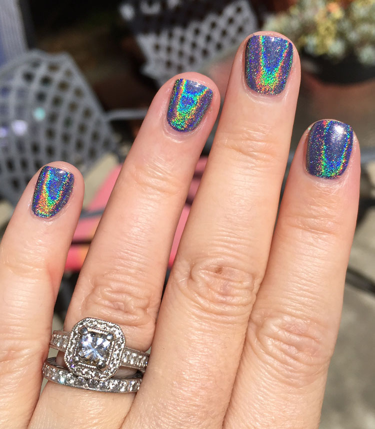 Holographic Nail Powder Review