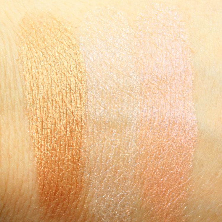 Urban Decay Naked Illuminated Trio Swtaches