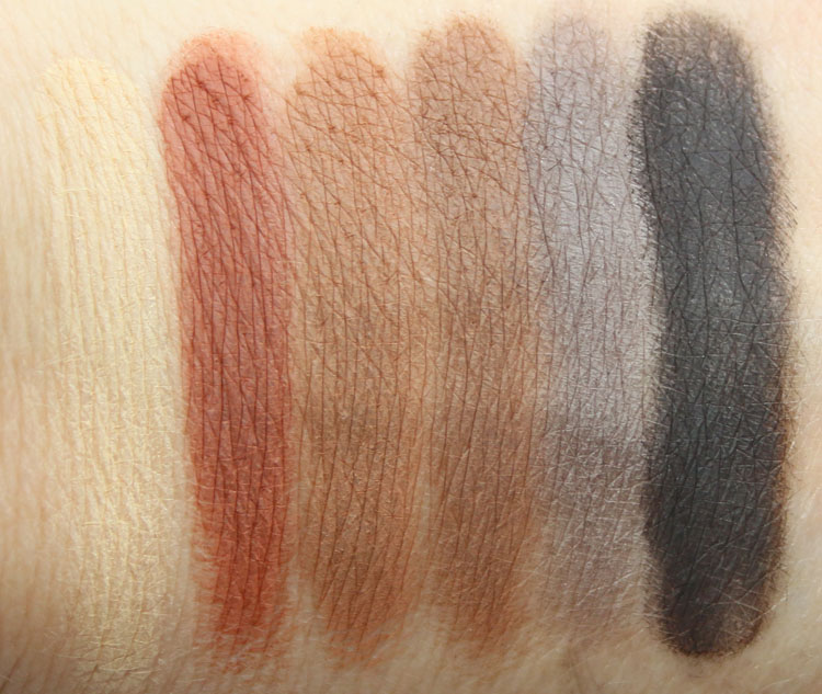 Urban Decay Naked Ultimate Basics Swatches-2