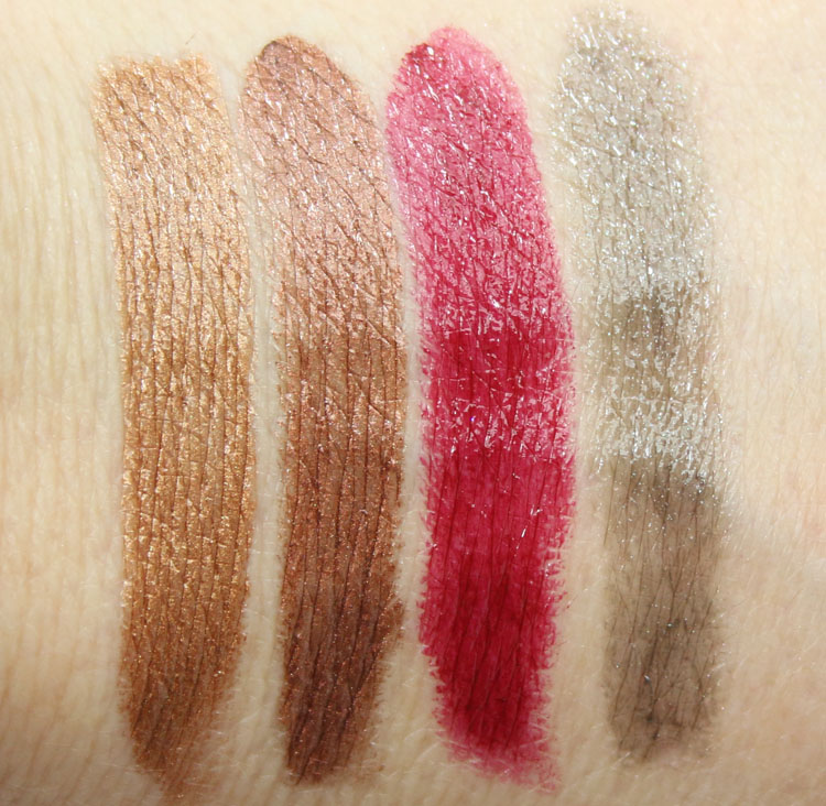 Urban Decay Vice Lipstick Vintage Capsule Collection Swatches-2