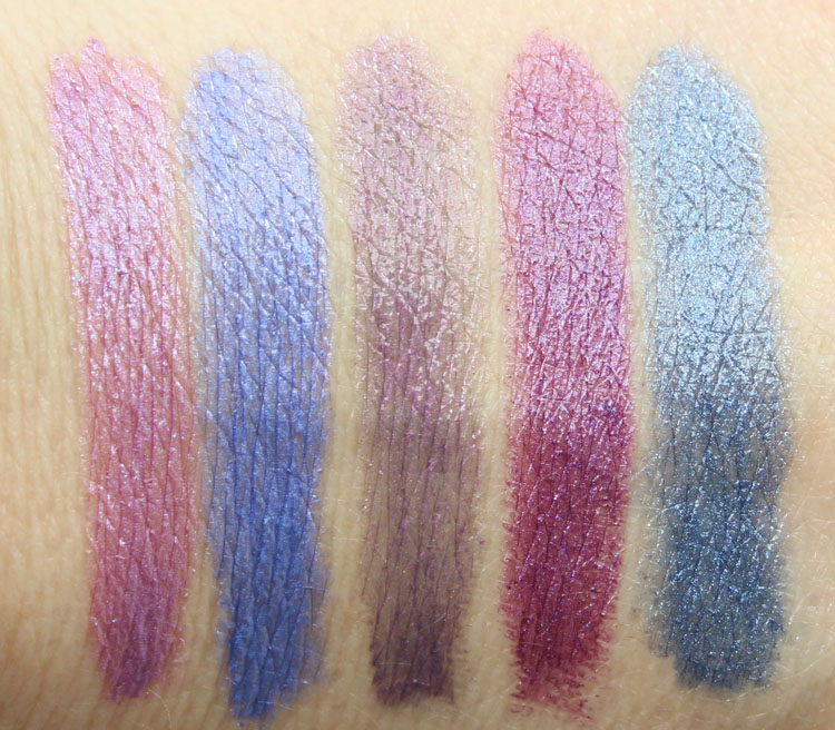 Urban Decay Vice Lipstick Vintage Capsule Collection Swatches