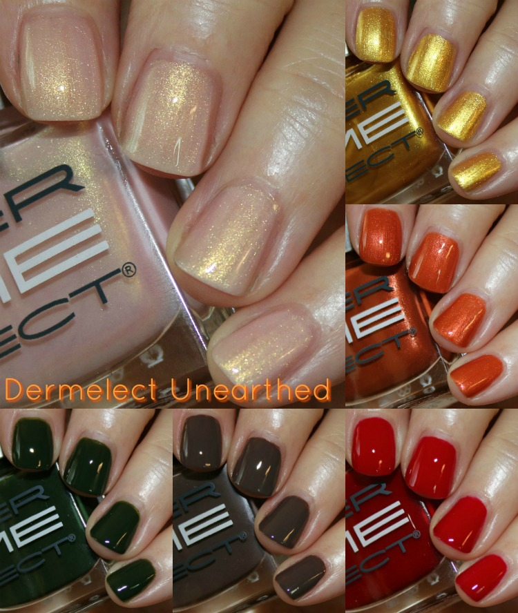 Dermelect Unearthed Fall 2016 Collection | Vampy Varnish