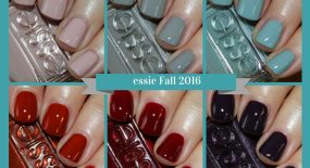 essie Fall 2016 Collection Swatches & Review